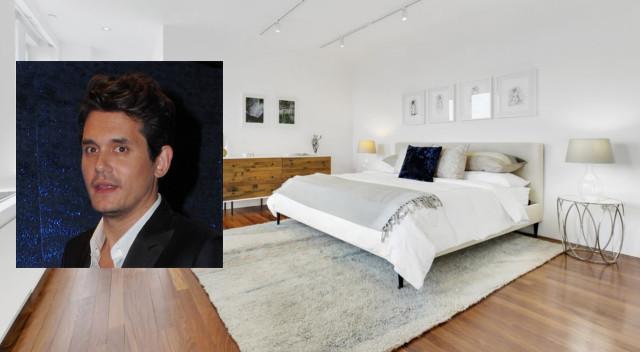 John Mayer sprzedaje apartament. Gość ma świetny gust!