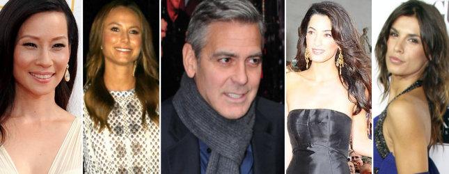WSZYSTKIE dziewczyny Georga Clooneya! (FOTO)