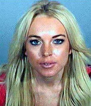 Lindsay Lohan w więzieniu na godzinę