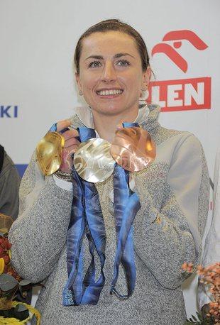 Justyna Kowalczyk wróciła z Vancouver (FOTO)