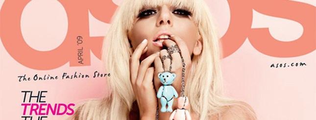 Lady GaGa w magazynie ASOS (FOTO)