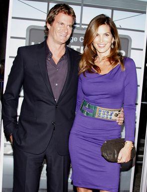 Cindy Crawford z mężem na czerwonym dywanie (FOTO)