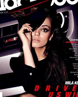 Mila Kunis w magazynie Blackbook (FOTO)