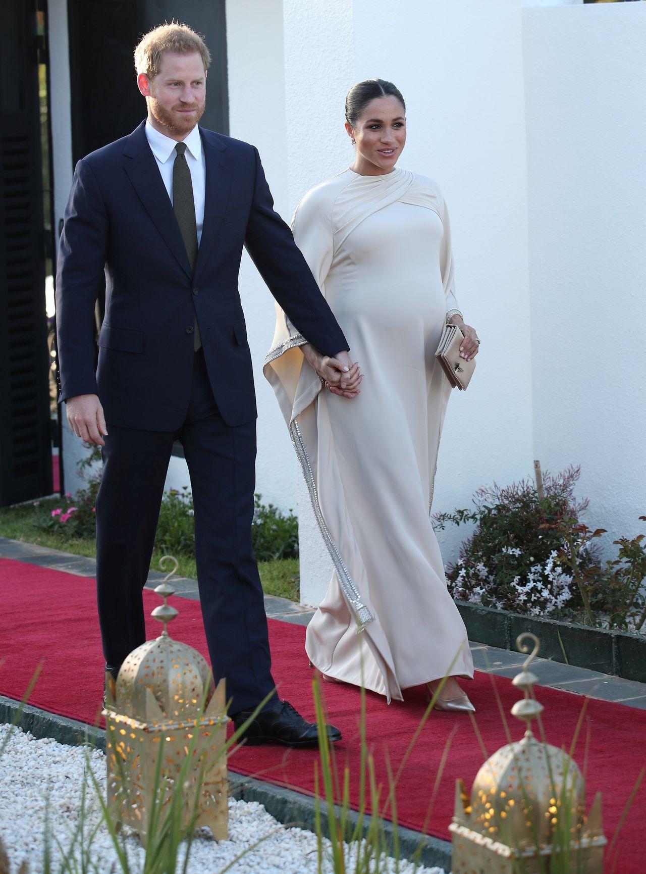 Księżna Meghan i książę Harry w Maroku