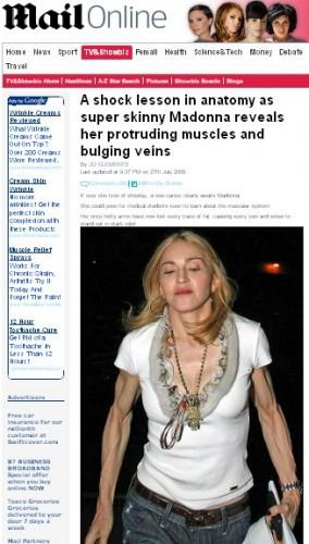 Madonna chce z powrotem mieć normalne ręce