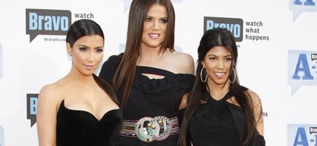 Czarne trio, czyli siostry Kardashian (FOTO)
