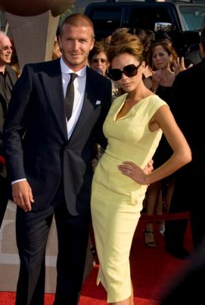 Victoria i David Beckham zszokowani
