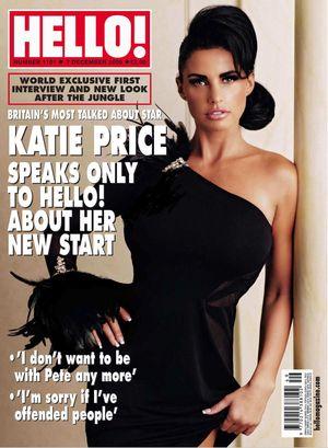Katie Price na okładce magazynu Hello (FOTO)