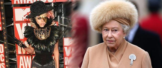 Lady GaGa z wizytą u Królowej Anglii (FOTO)
