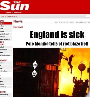 Monika Kończyk bohaterką brytyjskich tabloidów