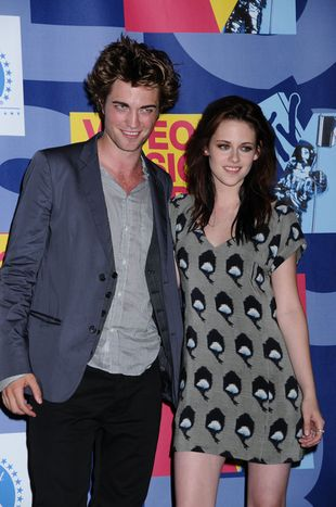 Pattinson i Stewart na planie New Moon