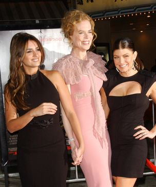 Kidman, Cruz i Fergie na czerwonym dywanie (FOTO)