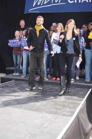 Roztańczeni Jessica Biel i Justin Timberlake