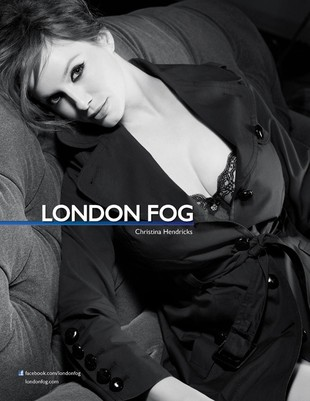 Christina Hendricks dla London Fog (FOTO)