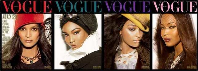 Ciemnoskóre piękności w <i>Vogue</i> (FOTO)