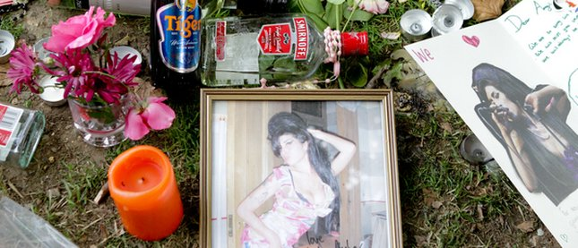 Rodzina i przyjaciele pożegnali Amy Winehouse
