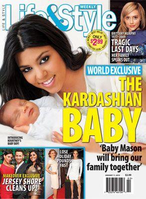 Pierwsze zdjęcie synka Kourtney Kardashian (FOTO)