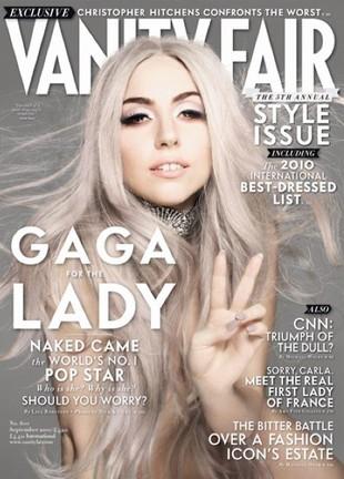 Alternatywne okładki Vanity Fair z Lady Gagą (FOTO)