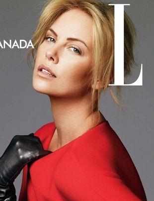 Charlize Theron na okładce Elle (FOTO)
