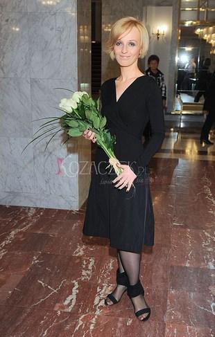 Kamila Łapicka świętuje rocznicę swego męża (FOTO)
