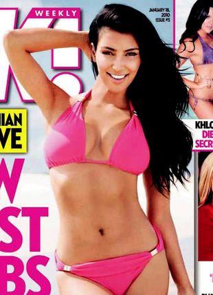 Kolejna okładka Kim w bikini (FOTO)
