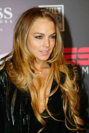 Obwisły biust Lindsay Lohan
