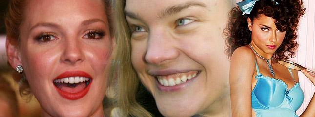 Ślub Jenny Bush, Katherine Heigl bez makijażu