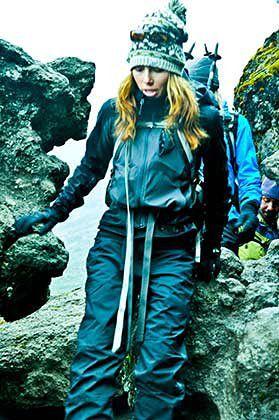 Jessica Biel zdobywa Kilimandżaro