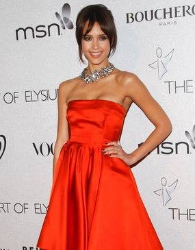 Jessica Alba w wersji orange (FOTO)