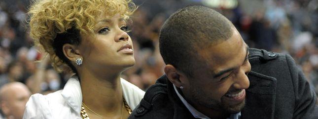 Rihanna z nowym chłopakiem na meczu NBA (FOTO)