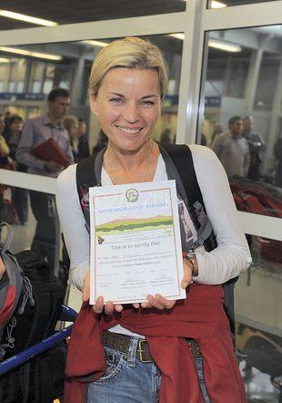 Małgorzata Foremniak zdobyła Kilimandżaro (FOTO)