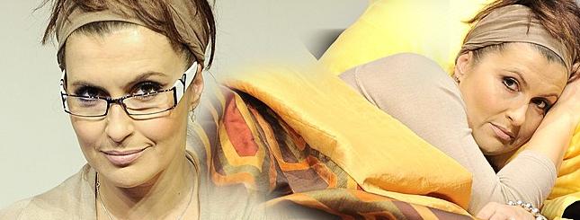 Kasia Skrzynecka: Winko, laptop i łóżeczko… (FOTO)