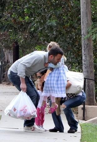 Jak Jennifer Garner i Ben Affleck spędzali niedzielę? (FOTO)