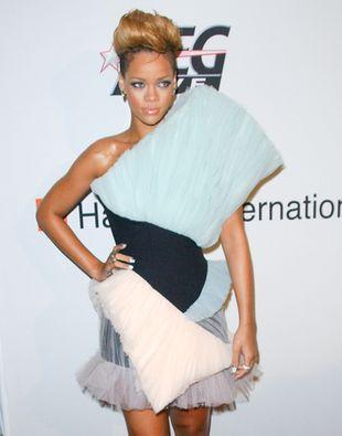 Rihanna i jej kreacja (FOTO)