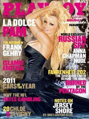 Pamela Anderson na swojej trzynastej okładce Playboya (FOTO)