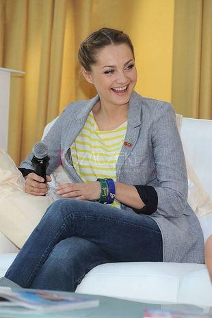 Małgorzata Socha na luzie (FOTO)