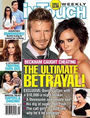Beckhamowie przegrali rozprawę z magazynem plotkarskim