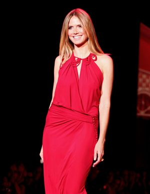Heidi Klum w swoim żywiole (FOTO)