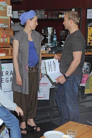 Katarzyna Herman pokazuje brzuszek (FOTO)