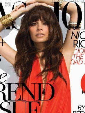 Nicole Richie dla magazynu Fashion (FOTO)