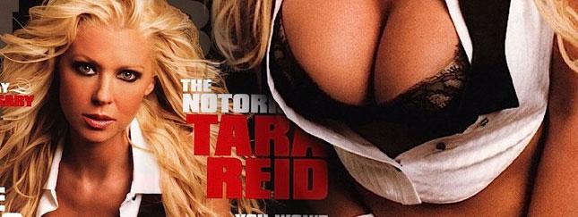 Tara Reid w amerykańskim Playboyu
