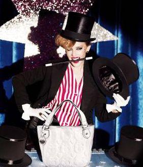 Kylie Minogue w roli iluzjonistki (FOTO)