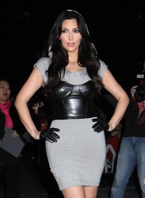Kim Kardashian i jej skórzane dodatki (FOTO)
