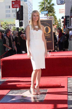 Gwyneth Paltrow odsłoniła swoją gwiazdę w Hollywood (FOTO)