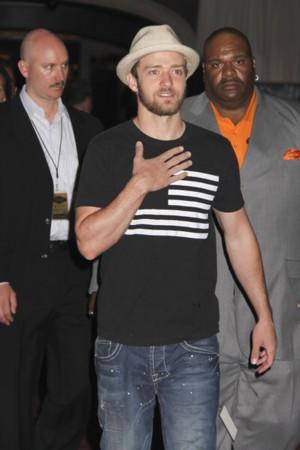 Justin Timberlake bez Jessicy Biel