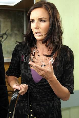 Agnieszka Włodarczyk na planie (FOTO)