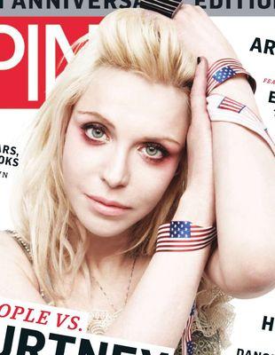 Courtney Love w sesji dla magazynu SPIN (FOTO)