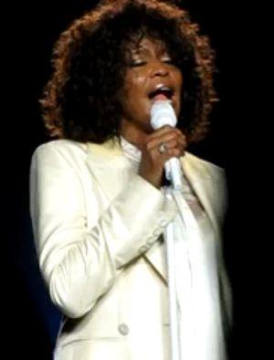 Whitney Huston i jej tragiczny śpiew na żywo [VIDEO]