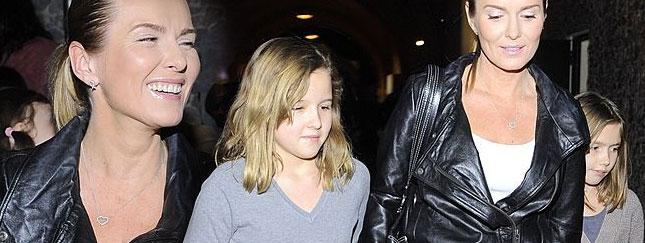 Hanna Lis zabrała córki na pokaz mody (FOTO)