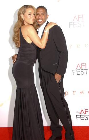 Mariah Carey w seksownej czerni (FOTO)